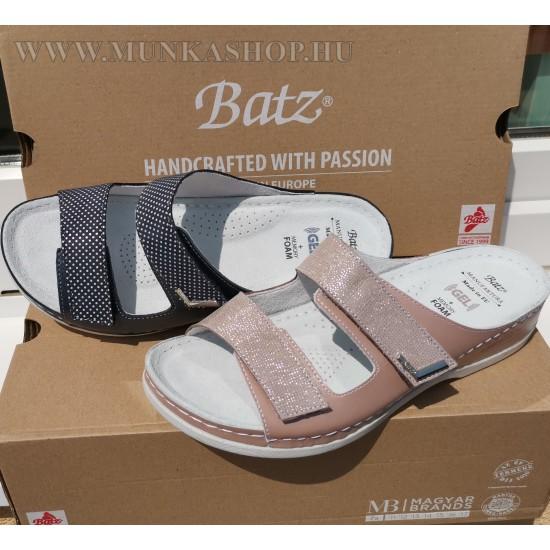 Batz FC07 papucs kék pöttyös