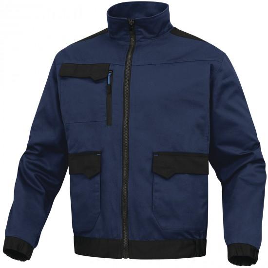 A Mach2 munkaruha kabát tengerészkék-királykék