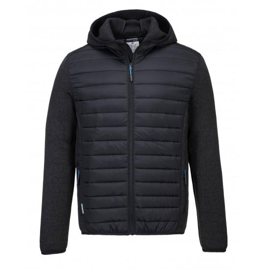 KX3 Baffle kabát szürke/fekete