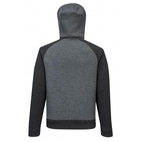 DX4 kapucnis pulóver szürke
