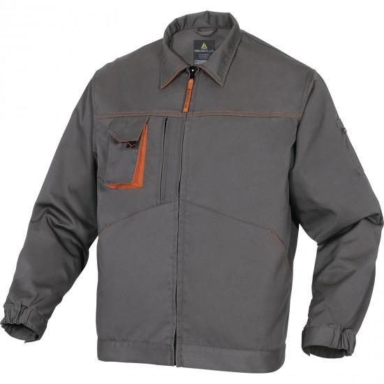 A Mach2 munkaruha kabát szürke-narancssárga