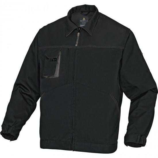 A Mach2 munkaruha kabát fekete-szürke