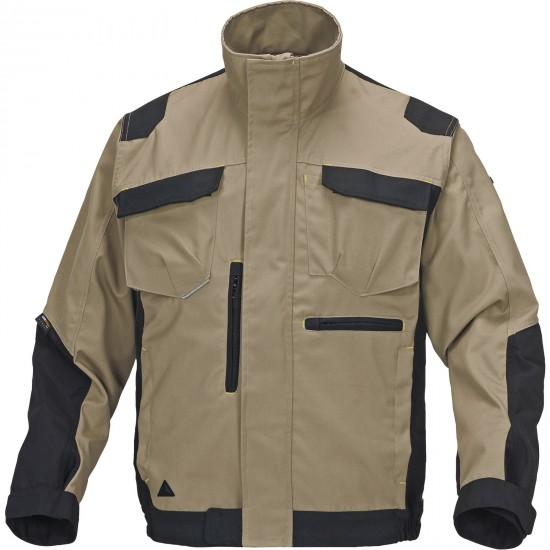 A Mach Spirit munkaruha kabát bézs-fekete
