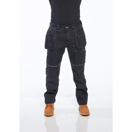 A URBÁN WORK lengőzsebes nadrág  fekete
