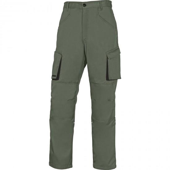 A Mach2 munkaruha nadrág derekas zöld-fekete