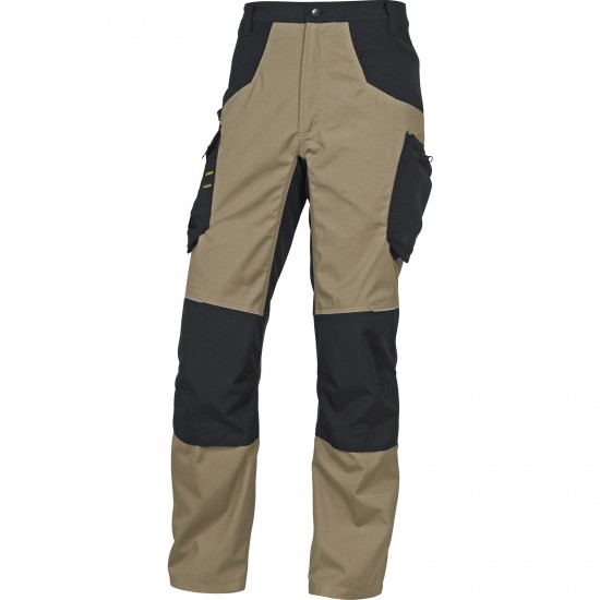 A Mach Spirit munkaruha nadrág derekas bézs-fekete