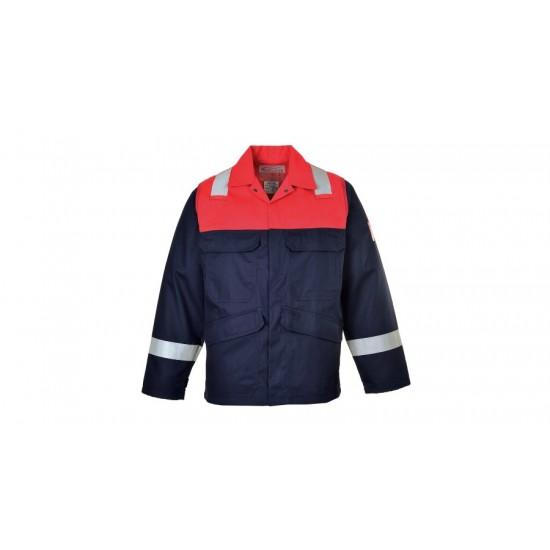 Antisztatikus kéttónusú kabát FR55